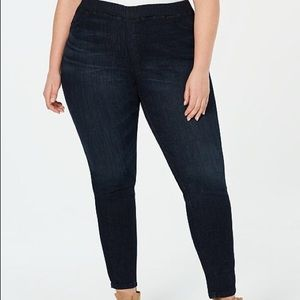 Eileen Fisher Jegging 2X Dark Denim